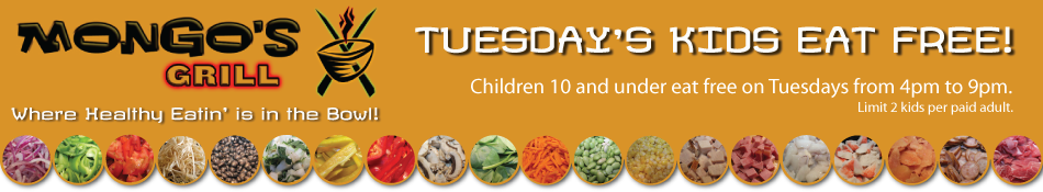 Mongos Grill - Kids eat free deal