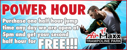 Airmaxx Trampoline Park - Power Hour Discount