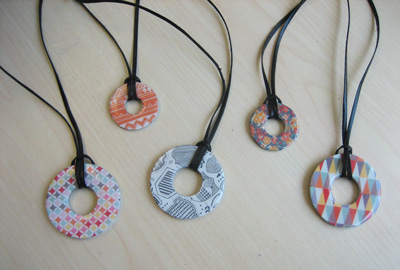 Washer Necklace Craft For Teens